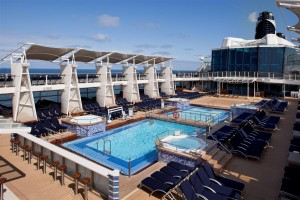 Pool Deck - Deck 12 Midship Celebrity Eclipse - Celebrity Cruises