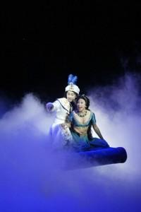 ?Disney?s Aladdin ? A Musical Spectacular? on the Disney Fantasy