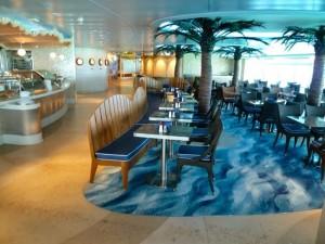 Cabanas Eating Area
