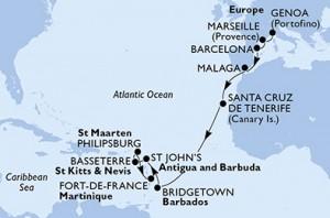 map Preziosa