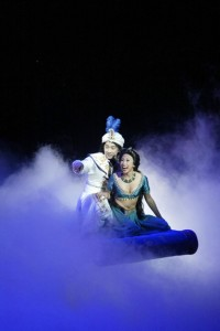 ?Disney?s Aladdin ? A Musical Spectacular? on the Disney Fantasy