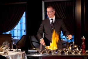 Flambe at Murano Restaurant - Deck 5 AftCelebrity Eclipse - Celebrity Cruises